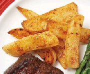 Frites coupe steak au chili