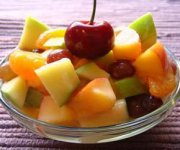 Salade de fruits juteux